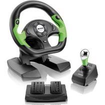 Volante Gt Shift + Câmbio Pedal Xbox Pc Js066 Multilaser -