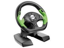 Volante GT Shift p/ PC e Xbox 360 - Multilaser JS066