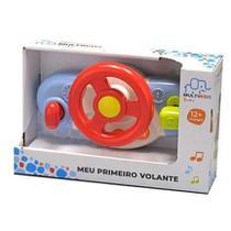 Volante Infantil Bebe Meu Primeiro Volante Baby Multikids -