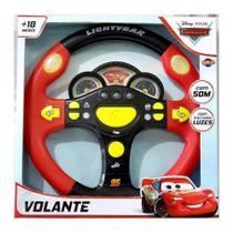 Volante Infantil Disney Carros Com Luz E Som - Toyng -
