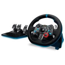 Volante Logitech Driving Force G29 Para PS4 / PS3 / PC Preto -