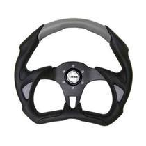 Volante Lotse Esportivo Grid Black Cinza -