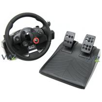 Volante/Marcha/Pedal - Logitech Driving Force GT - Preto - 941-000020 -