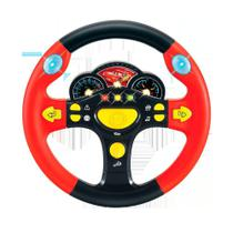 Volante Musical Carros - Disney - Toyng -
