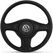 Volante Original Gol G5 Saveiro G5 Voyage G5 Fox todos sem arbag + Acionador Buzina Volkswagen Vw - Poliparts