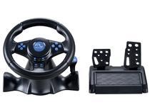 Volante para PC/PS2/PS3 Multilaser - Racer 3 em 1