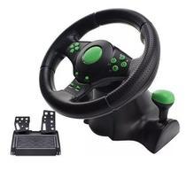 Volante Racer 4 Em 1 Xbox360 Ps3 Ps2 Pc Pedal Cambio Kp5815a - Knup