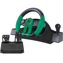 Volante Racer Para Xbox One Pc Usb 2 Pedais Js077 Multilaser -