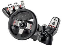 Volante Simulador de Corrida p/ PS3 e PC - com Pedal e Câmbio - Logitech G27