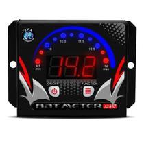 Voltimetro Bat Meter JFA 12MQ Microcontrolado Quadrado Led Vermelho -