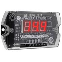 Voltímetro Sequenciador Digital Jfa Vs5hi Vermelho 5 Saídas -