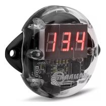 Voltímetro Taramps VTR-1000 Medidor Nível Bateria Som Automotivo -
