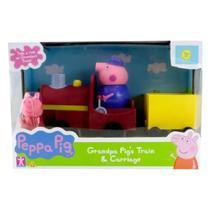 Vovô Maquinista Com Trenzinho E Peppa Pig Sunny 2306 -