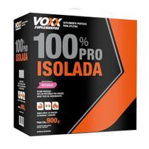 Voxx 100% Pro Whey Isolada Sabor Morango 900g - Cimed -