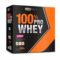 Voxx Suplementos 100% Pro Whey 900g sabor morango -