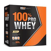 Voxx Whey 100% Pro Sabor Baunilha 900g -