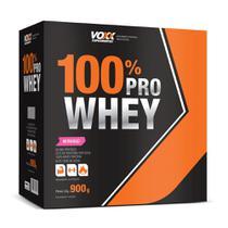 Voxx Whey 100% Pro Sabor Morango 900g -