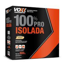 Voxx Whey Protein 100% Pro Isolada Baunilha Sachê 900g -