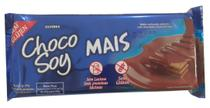 Wafer coberto com chocolate chocosoy mais tipo bis Olvebra 62g -