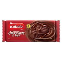 Wafer Isabela Chocolate Suico 100g -