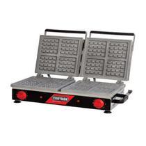 Wafleira Máquina de Waffles Quadrada Dupla MWQD Croydon -