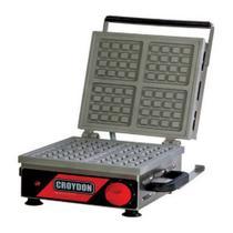 Wafleira Máquina de Waffles Quadrada Simples MWQS Croydon -