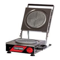 Wafleira Máquina de Waffles Redonda Simples MWRS Croydon -