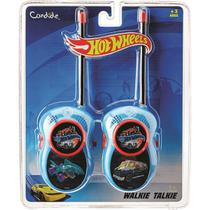 Walkie Talkie Infantil Hot Wheels Candide -