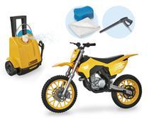 Wash Garage Moto Cross Infantil Lava Jato Sai Água - Usual