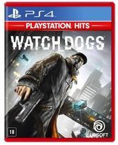 Watch Dogs (Playstation Hits) - Ps4 Mídia Física - Ubisoft