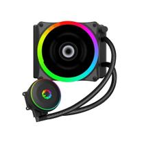 Water Cooler Gabinete 1 Fan 120mm RGB Iceberg 120 RAINBOW Liquid Cooler Gamemax