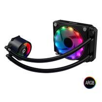 WaterCooler Gabinete Gamemax Ice Chill 120 RAINBOW ARGB Liquid Cooler 1Fans 120MM C/Controladora -