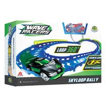 Wave Racers Skyloop Rally Veículo E Pista Loop 360 Dtc -