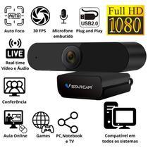 Webcam 1080 Camera Live Streaming Para Pc Notebook Tv Jogos - Vstarcam