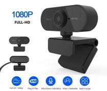 Webcam 1080p Full Hd Câmera Computador Microfone P/envio - Hd Web Cam