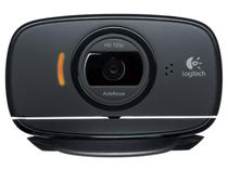 Webcam 8MP HD 720p com Microfone Embutido Logitech C525