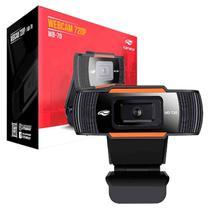 WebCam C3Tech WB-70BK HD 720p USB Preta 1.5m de Cabo -