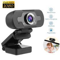 Webcam Câmera Full Hd 1080p Usb De Computador Com Microfone Embutido - Lxshop