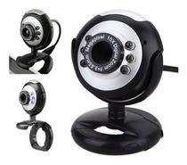 Webcam com Microfone Integrado e Angulo Ajustavel Hd Usb Lehmox LEY-53 -