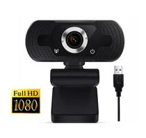 Webcam Full-HD 1080P com Microfone  Plug & Play - Honorall