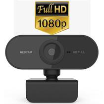 Webcam Full Hd 1080p Microfone 360 USB Mini Câmera PC Computador Noteboock Descktop Lives Home Office Aula Online Jogos