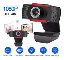 Webcam Full Hd 1080p Usb Câmera Stream Live Alta Resolução - Turu Concept