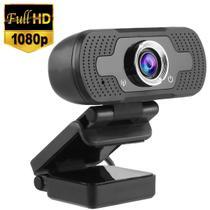 Webcam Full HD 1080P USB com Microfone Embutido  - Plug & Play - Lxshop