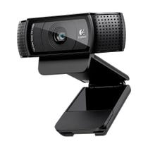 Webcam full hd c920 1080p 15mp com foco automático e som stereo - Logitech