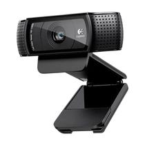 Webcam FULL HD C920 1080P 15MP Logitech com Foco Autom Tico e Som Stereo