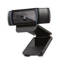 Webcam full hd c920 pro logitech microfone computador usb -