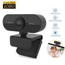 Webcam FullHD 1080P Câmera com Microfone - Plug & Play  Pronta Entrega c/ NF Novo - Lxshop