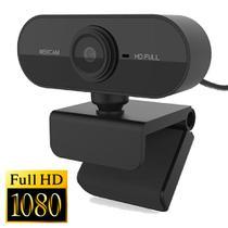 Webcam FullHD 1080P Microfone Câmera Usb De Computador  Pronta Entrega Novo - Lxshop