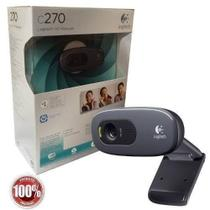 Webcam Logitech C270 HD 720P