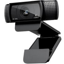 Webcam Logitech C920 Pro Full HD 1080P 30fps Com Áudio Estéreo